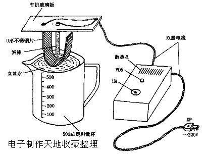 用dt830b数字万用表测量电极上电压应为6.5v左右,电流应为2.