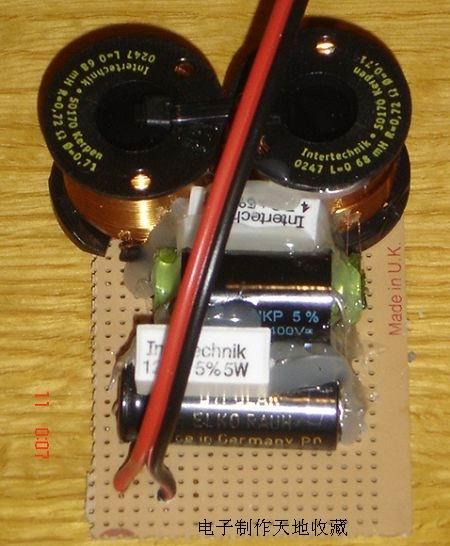 电子制作天地网站 音响与功放电路类    电路部分比较简单就是一个