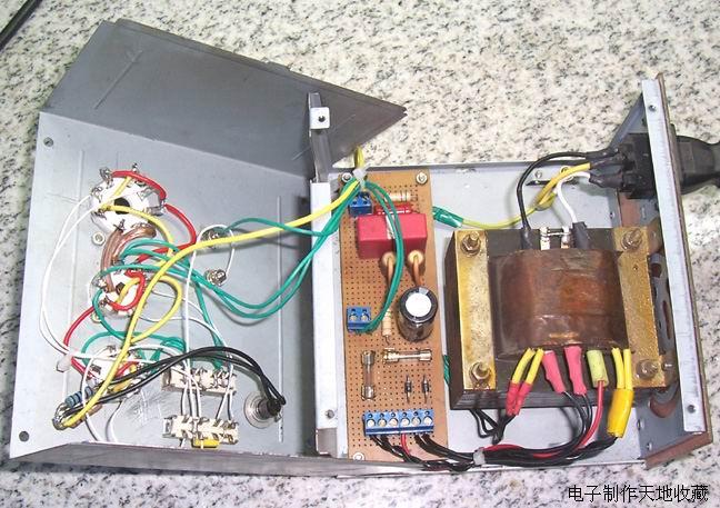 自制胆前级用电子管测试仪
