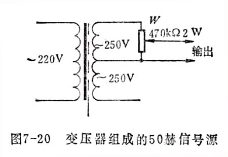 被测信号电压从接线柱输入到毫伏表中, rl~r18组成的衰减器是
