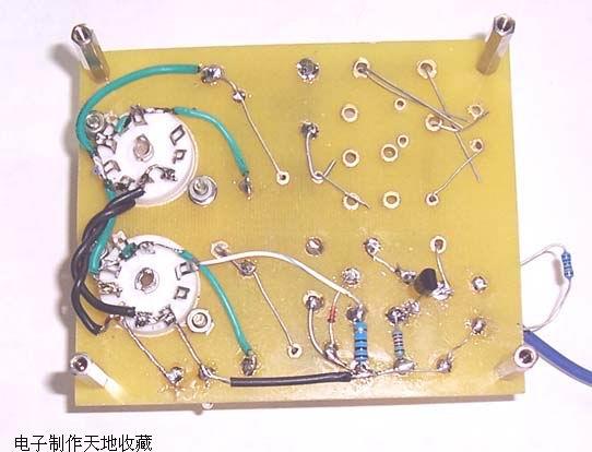 用6e2制作的电平指示仪