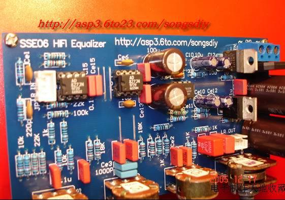 用ad827/opa2604/ne5532制作的负反馈高中低音调电路