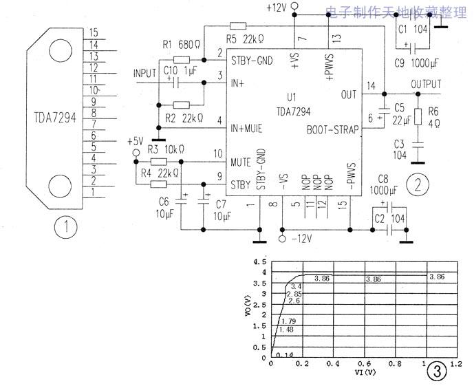 s乥r4191厚膜功放电路图