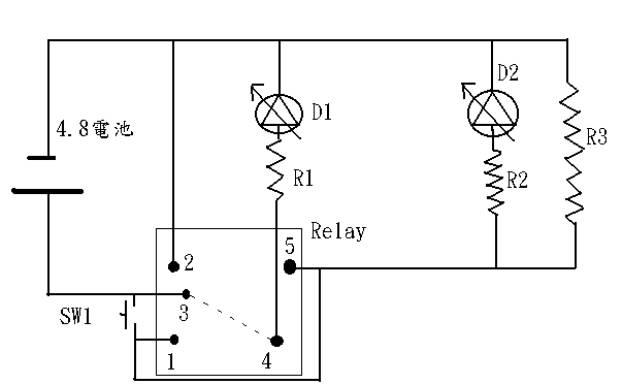 bx-212型充电器,而放电器自制