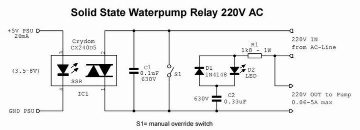 电脑水冷抽水泵控制电路--pump