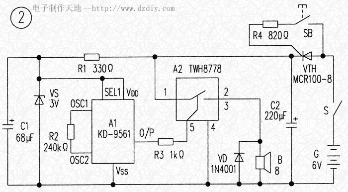 上述两图中,vth应采用触发电流较小的塑封单向