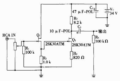 单端场效应管甲类功率放大器制作--class
