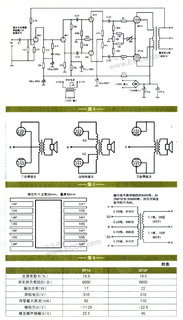 电子制作天地--胆机电路