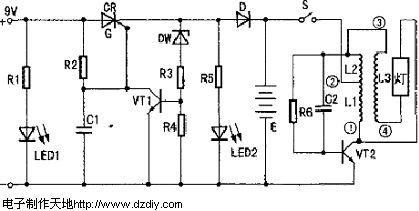 从电路板上焊下4根灯丝的引线,把同属一端灯丝的两根引线焊在一起