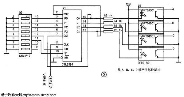 电子制作天地网站 自动控制电路类                   stepper motor