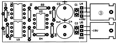 仪表放大器设计和制作--amp