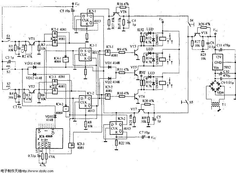 自动门控制电路--door