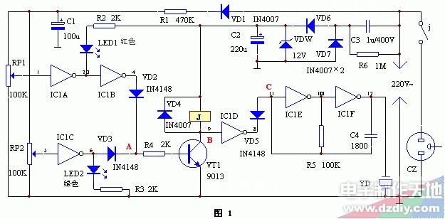 市电电压双向越限报警保护器--voltage