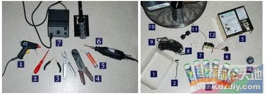 电池和开关三者的电路