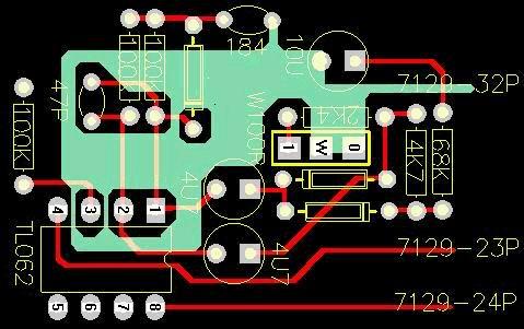 平均值转换电路---印刷版op-amp