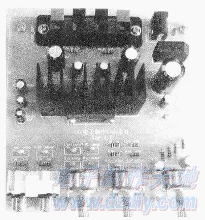 集成电路制作的音频功率放大器