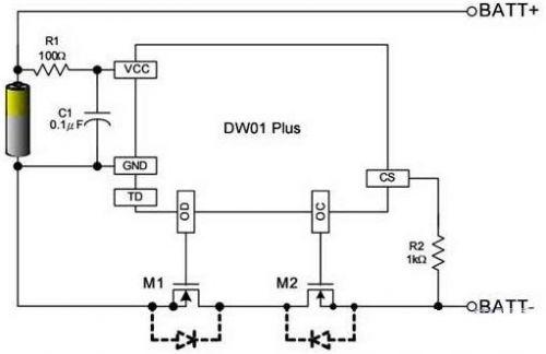 短路保护电路设计--锂电池一些