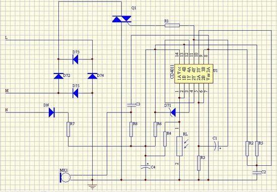mq-2转换电路图