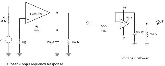 ne5532标准线性前置放大器ic电路特点及应用原理图介绍