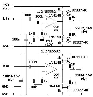 Electret Microphone Pre Schematic likewise  as well Small Low Voltage High Quality Audio  lifier likewise 1 100 IC Ccts additionally NE5532. on lm386