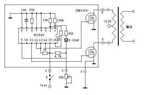 自制太阳能并网逆变器电路图_大功率高效逆变电路--high Efficiency power inverter
